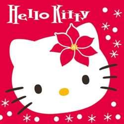 Hello Kitty Schneeflocke