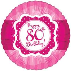Perfectly Pink - 80. Geburstag