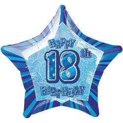 Blue Glitz - 18. Geburtstag