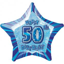 Blue Glitz - 50. Geburtstag