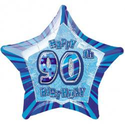 Blue Glitz - 90. Geburtstag