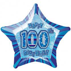 Blue Glitz - 100. Geburtstag