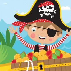 Kleiner Pirat 1. Geburtstag