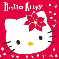 Hello Kitty Schneeflocke