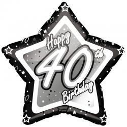 Black Glitz - 40. Geburtstag
