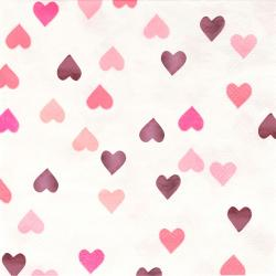 Glitzerherzen - Valentinstag
