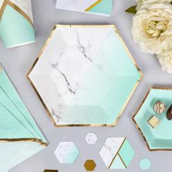 Mint & Marble Baby Shower