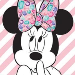 Minnie Mouse Gem 1.Geburtstag