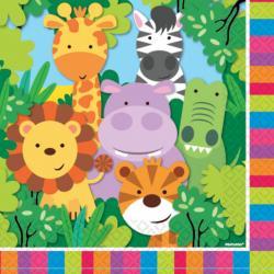 Dschungeltiere 1. Geburtstag