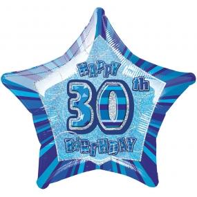 Blue Glitz - 30. Geburtstag