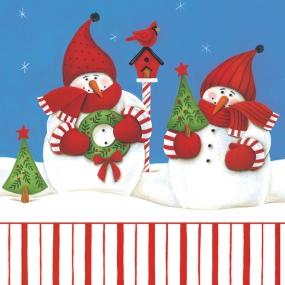 Weihnachtsschneemann