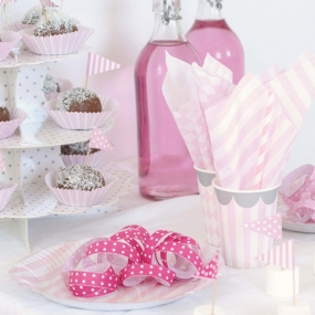 Rosa & Weiß Geburtstag