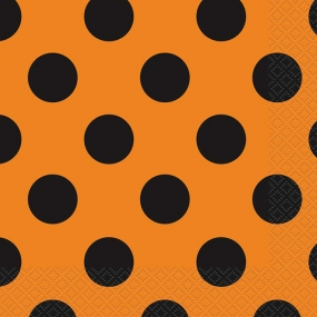 Orange & Schwarze Punkte - Kids