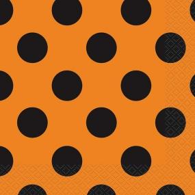 Orange & Schwarze Punkte