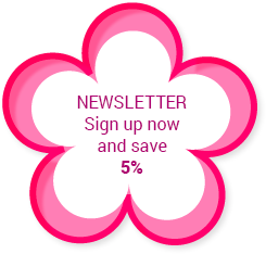 NEWSLETTER - Sign up now and save 5%
